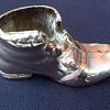 Silver plated boot