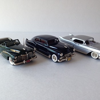 Handmade White Metal Cadillac Replicas  - Model Cars