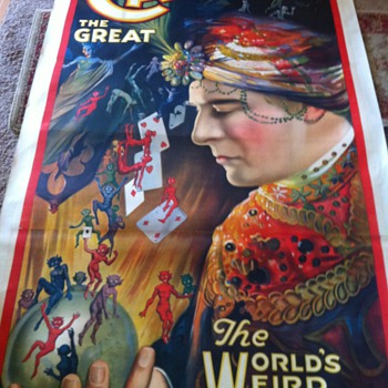 Carter the Great poster - Posters and Prints