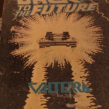 """Back To The Future ""Valterra Vintage Skateboard With Handles - Sporting Goods"