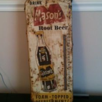 Masons Root Beer Thermometer