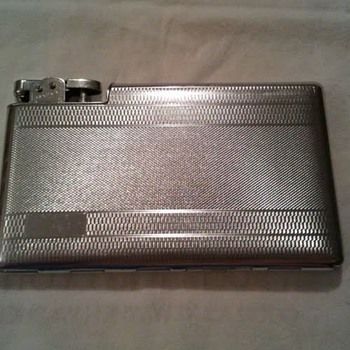 1930's/1940's Polo Cigarette Case & Lighter Combination