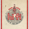 Coca-Cola Hi-Fi Club membership card from Hong Kong
