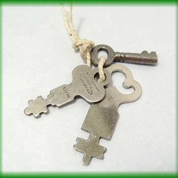 Vintage Keys -- EAGLE LOCK COMPANY