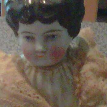 Bisque Porcelain Doll