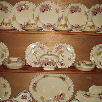 My Royal Doulton Orchid Dinner Set - China and Dinnerware