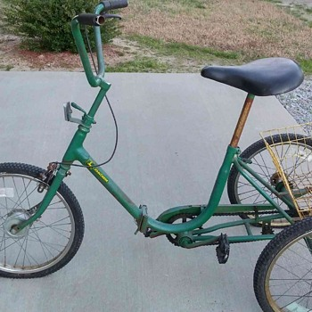 John Deere Tricycle??? Help  - Sporting Goods