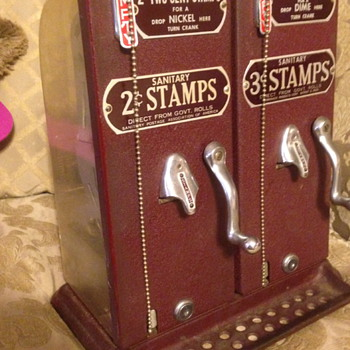 2 & 3 cent Schermack stamp machines
