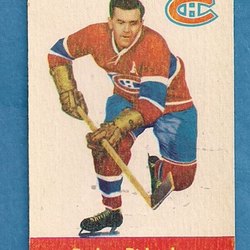 """The Rocket"" Maurice Richard 1955 Parkie - Hockey"