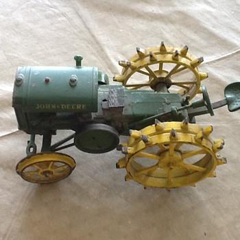 Vintage John Deere Toy Tractor