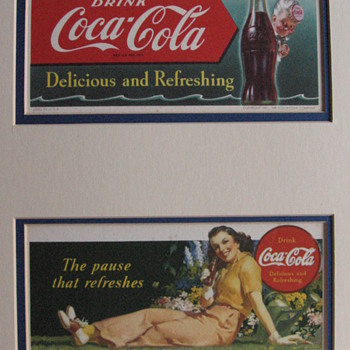 My New Blotters - Coca-Cola