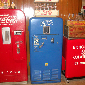 My machines and cooler - Advertising