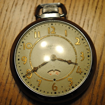 1957 E Ingraham Sentinel Pocket Watch