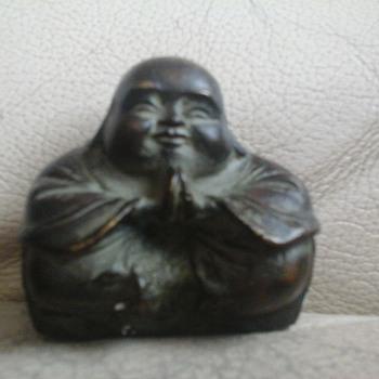 bronze buddah - Asian