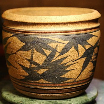 Diamond Sutra Pottery '75 - flower pot - Pottery