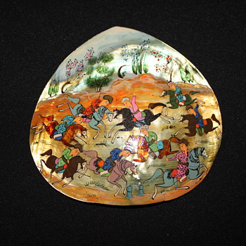 Hand Painted Shell - Animals