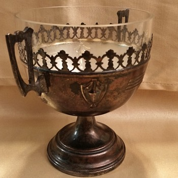 Antique Silver Vessel Goblet Challis