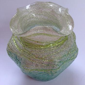 Kralik Silveria glass vase