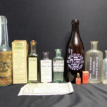 Bottles From Bottle Show - Bottles