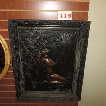 Leather Artwork Nude 2 - Visual Art