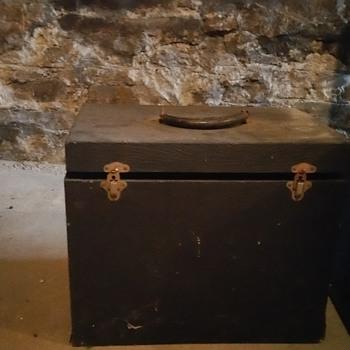 Saint Mary's equipment last rights box