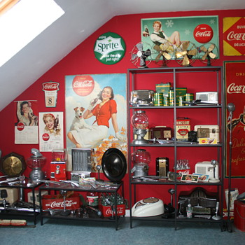 Collection in the attic - Advertising