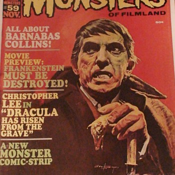 Barnabas Collins Famous Monsters Magazine November 1968