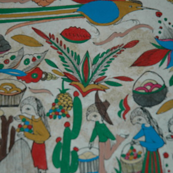 Forein painting? - Folk Art