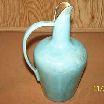 an antique pottery vase marked vearl? Another favorite piece..any clues? - Pottery