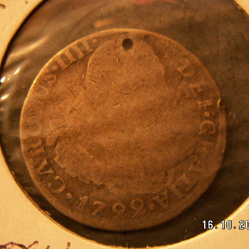 1792 Pillar Coin (Silver) - World Coins