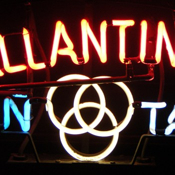 Ballantine On Tap Neon Sign - Signs