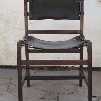 Early (Vintage) flat pack chair found in Africa