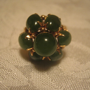 Old Jade & Gold Ring