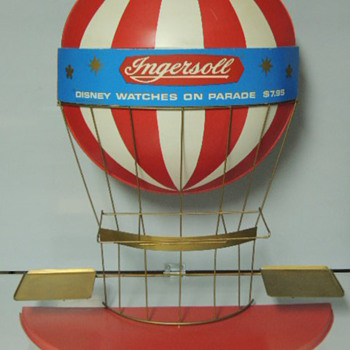 Ingersoll Balloon display - Wristwatches
