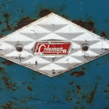 Vintage Coleman Diamond Cooler