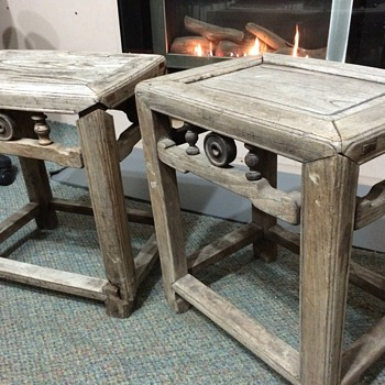 Chinese stools  - Asian