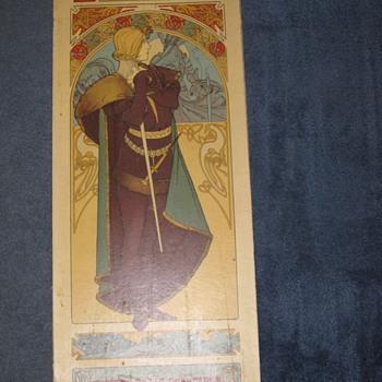 Alphonse Mucha Poster Sarah Bernhardt Original Lithograph? Art Nouveau