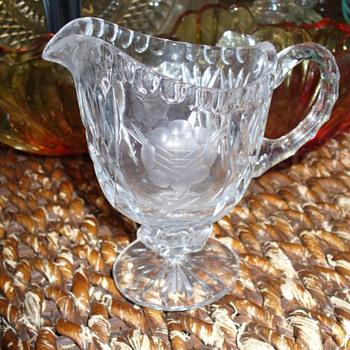 EAPG Creamer Teardrop Row Pattern? - Glassware