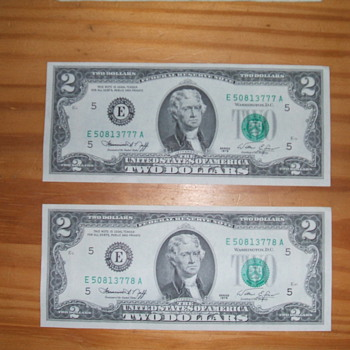 No Post mark, but...... - US Paper Money