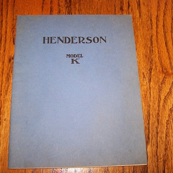 Henderson Motorcycle book