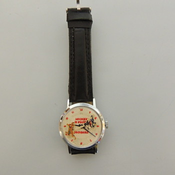 MICKEY & PLUTO JOGGERS WRSTWATCH - Wristwatches