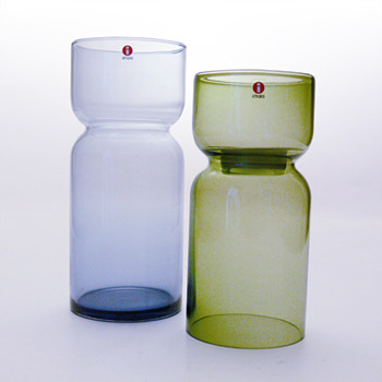 LANTERN candleholder &amp; vase, Harri Koskinen (Iittala, 1999)