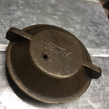 'Ford' Brass Threaded FUEL Cap!!!