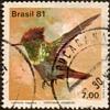 "Brazil - ""Hummingbird"" Postage Stamp"