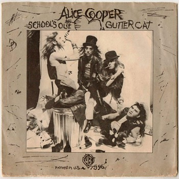 45rpm Record - Alice Cooper - 1972 - Records