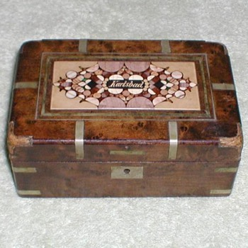 German Wood Box Karlsbad - Fine Jewelry