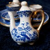 Miniature Tea Set ~ 10 piece made in Taiwan