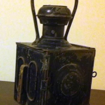Unusual (RR?) Lamp Identification Needed