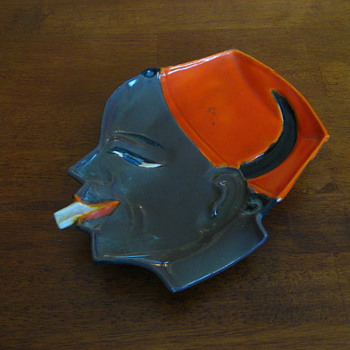 Czech ashtray - Art Pottery