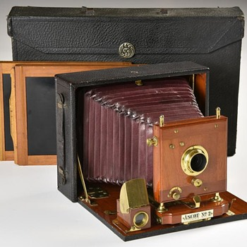 E. & H.T. Anthony Ascot Cycle, No.2 Camera. c.1899 - Cameras